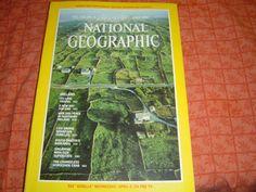 NATIONAL GEOGRAPHIC IRELAND April 1981 by LONLAR803 on Etsy, $12.00