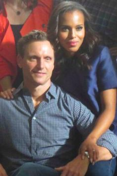 Love their chemistry on and off the set.