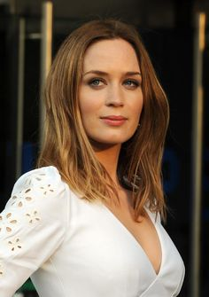 Emily Blunt. So talented. Such a rare beauty, a look like no other lady I've seen,
