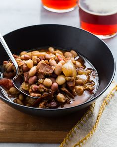 Winter and soup are a classic couple. Growing up, we had soup quite a bit, often times chili or chicken noodle. But anytime we had a holiday gathering that featured a big ham, I knew that a pot of ham and bean soup was in our near future. My mom and grandma would always use …