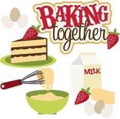 Baking Together SVG collection svg files baking svg files baking svg cuts cut files for scrapbooking cardmaking