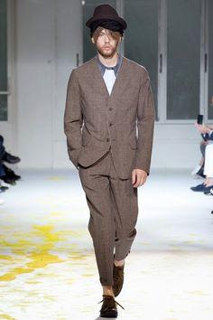 YOHJI YAMAMOTO FW15 Mens Fashion Week