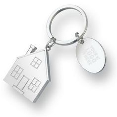 This Charmed Keyring is the perfect closing gift. Hand over the keys to your client's new home with a special thank you!