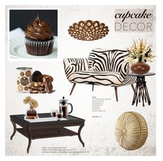 """""""Cupcake Decor"""" by helenevlacho ❤ liked on Polyvore"""