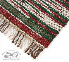 woven christmas rug large - Christmas Rugs Large