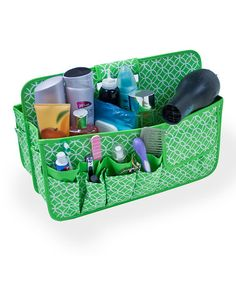 Love this Green Circle Carryall Caddy by Neatnix on #zulily, $25 !!  #zulilyfinds