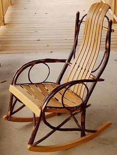 amish rocking chairs, love these