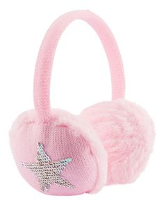 Sequin Star Earmuffs, , hi-res Tulle Headband, Glinda The Good Witch, Winter Outfits For Girls, Carter Kids, Girl Thinking, Unicorn Birthday, Birthday Cake, Outfit Maker, Earmuffs