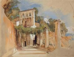john frederick lewis on arc | ... in Amalfi, Italy' by John Frederick Lewis…