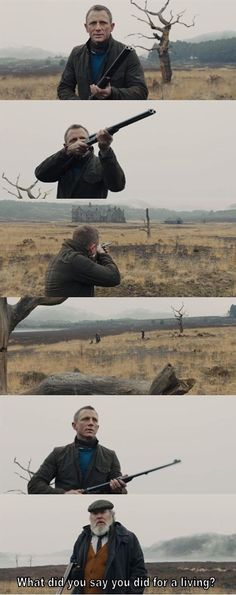 Skyfall :) <3 i love that they snuck this funny scene into the movie