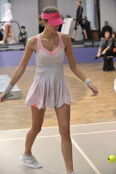 hot sale online d9bc8 bd447 Adidas By Stella Mccartney at London Fashion Week Spring 2009. Tennis  GearTennis ClothesPlay TennisTennis DressTennis SkirtsCheer SkirtsAthletic  ...