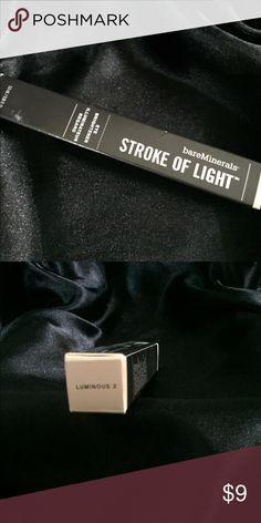 Bare minerals stroke of light Color luminous 2 90% full bare minerals Makeup Concealer
