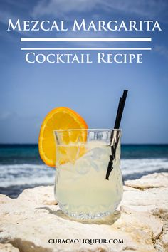 Switching the tequila for a mezcal gives the classic sour taste of a Margarita more depth.