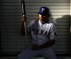 Ian Kinsler, Ranger 2nd baseman. One of the cutest dudes in MLB. Best haircut. A fierce badass in knickers. If he wasn't such a great player, he would not be as cute. But he would still have great hair. Skillz.