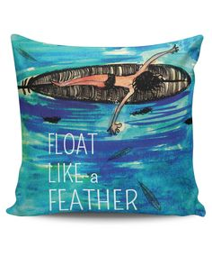 Float Like a Feather Cushion Cover