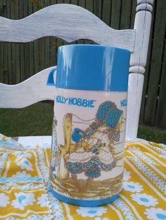 Holly Hobbie Travel Mug by Eklektikat on Etsy, $12.00