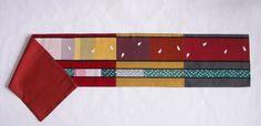 Silk Table Runner Amazing Japanese Vintage Kimono Obi by Wabiske