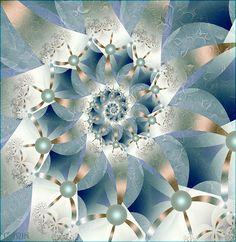 """ultrafractal"" - art by Carin Dahlin (Virus VON Fractalia), via Flickr"