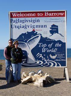 Pam and Jason Clemens, Barrow Alaska, June 2007