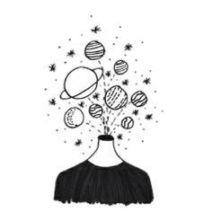 keep it simple doodles Space Drawings, Doodle Drawings, Doodle Art, Easy Drawings, Outline Drawings, Tumblr Art, Tumblr Drawings Grunge, Hipster Drawings, Simple Doodles