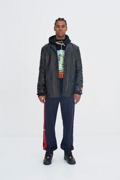 Heron Preston Fall 2017 Menswear Collection - Fashion Unfiltered