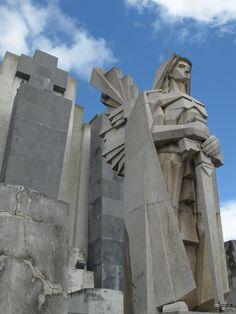 Cementerio de Azul, detalles