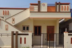 New exterior house siding colors porticos 28 Ideas House Front Wall Design, Single Floor House Design, House Outside Design, Village House Design, Bungalow House Design, Small House Design, Cool House Designs, Duplex Design, Modern Bungalow