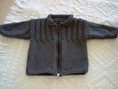Ravelry: Cable Yoke Jacket pattern by Debbie Bliss