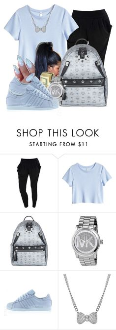 Untitled #200 by oh-thatasia on Polyvore featuring H&M, adidas, MCM, Michael Kors and Talullah Tu