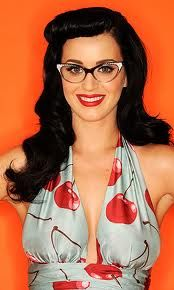 Katy Perry vintage style