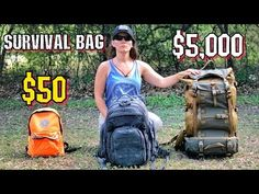 Survival camping tips Hurricane Preparedness, Emergency Preparedness, Survival Mode, Survival Kits, Survival Backpack, Golf Bags, Challenges, Youtube, Dfs
