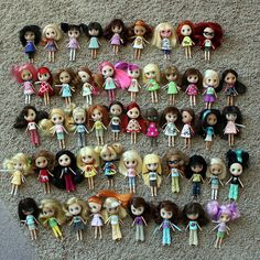 LPS Blythe doll collection