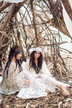 blackfaun.com  #tipi #treefort #boho #bohochic #teepee #bohobride #bohowedding #lacecrochet #bohodress