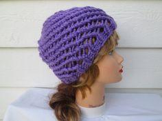 crochet hats knit hats crocheted beanie Beach Hat by Ritaknitsall