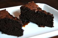 dark chocolate cake with a maple caramel centre �?? gluten free | whatever's left