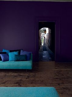 Royal purple -- a favorite jewel tone of ours, especially when paired with teal.