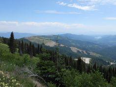 Top Of Mount Spokane WA, one of my book murder scenes