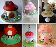 EAT MORE CAKE: Bolos Decorados - Bolo Cogumelo