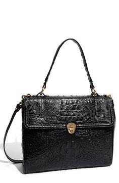 c04801b54f Brahmin  Melbourne Chelsea Selia  Croc Embossed Leather Satchel