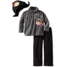 Disney Little Boys Three Piece Jake Fleece Set Grey Open 3T * Want to know more, click on the image-affiliate link.