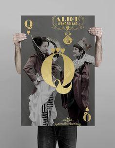 Turnstyle | Design, Graphic Design, Web Design, Information Design | Alice in Wonderland