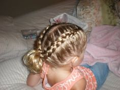 Inside out french braids for kids level pre k or 1 or 2
