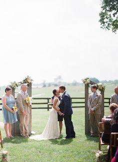Beautiful wedding in Hunt Country, VA