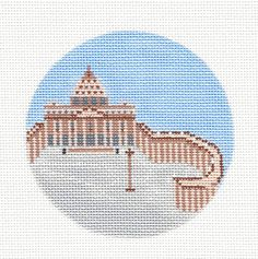 Vatican City 4 Destination round by Painted Pony Designs