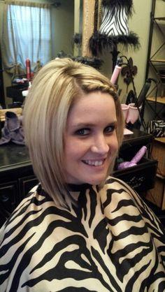 Hair by Amanda!