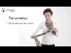 Frog scarf styling 스카프 스타일링 - YouTube
