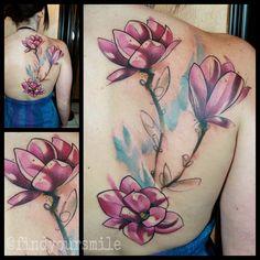 magnolias by Russell van Schaick