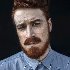 Agata Serge Photography#man#redhair#frickles#beard