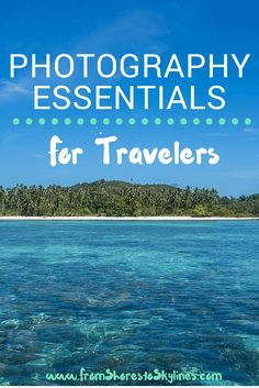 Pack light and still take amazing photographs with these recommendations for travel photography gear, including underwater and compact cameras.
