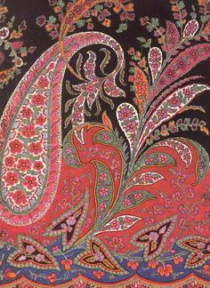 History of an exotic pattern named after a Scottish town once famed for its textiles.